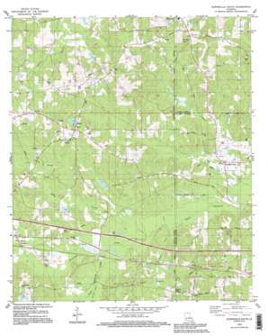 Downsville South USGS topographic map 32092e4
