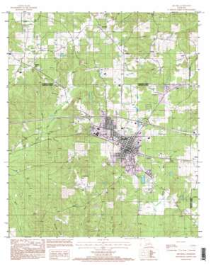 Arcadia topo map