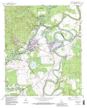 Sterlington USGS topographic map 32092f1