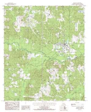 Dubach USGS topographic map 32092f6