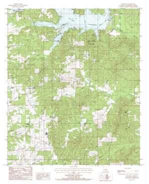 Marsalis topo map