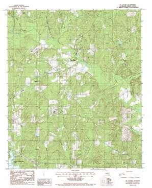 De Loutre topo map