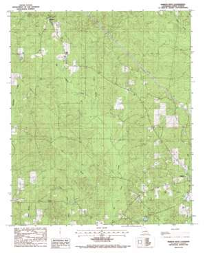 Marion West topo map
