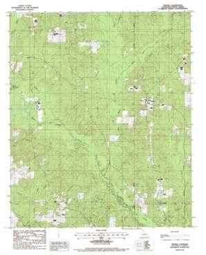 Truxno USGS topographic map 32092h4