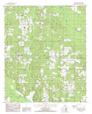 Spearsville USGS topographic map 32092h5