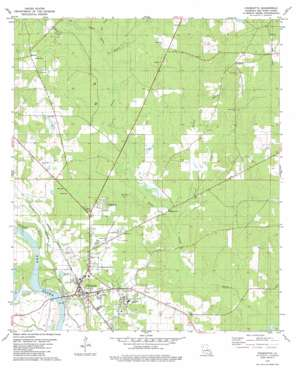 Coushatta USGS topographic map 32093a3