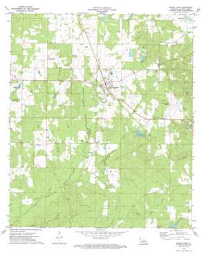 Grand Cane USGS topographic map 32093a7