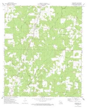 Longstreet topo map