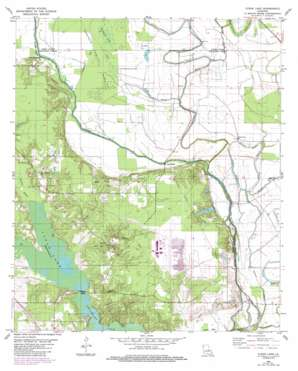Clear Lake USGS topographic map 32093b5