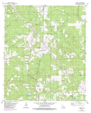Holly topo map