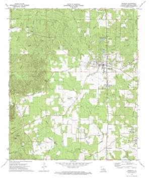 Ringgold USGS topographic map 32093c3