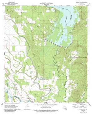 Bossier Point topo map