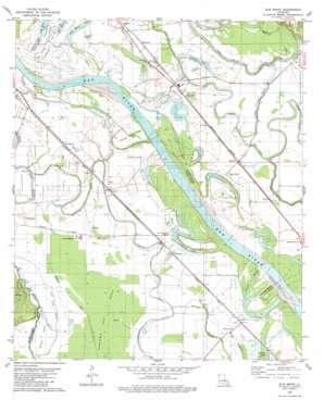Elm Grove topo map