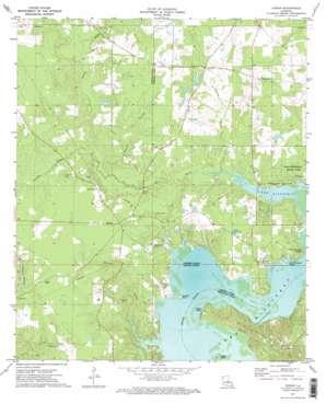 Koran USGS topographic map 32093d4