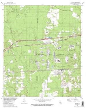 Doyline topo map