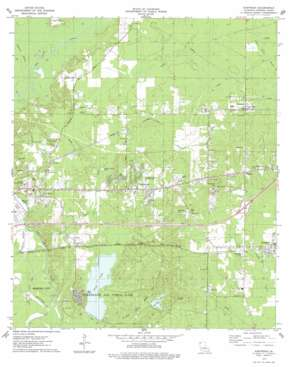 Eastwood topo map