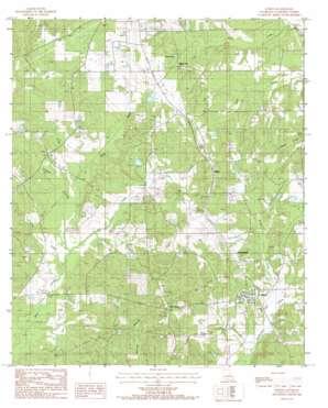 Athens topo map