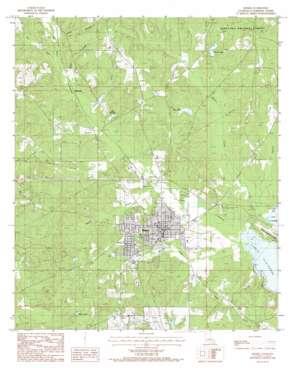 Homer topo map