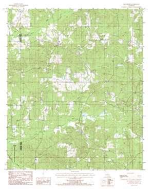 Blackburn topo map