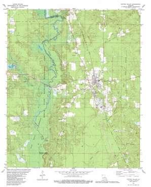 Cotton Valley topo map