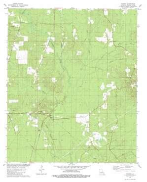Hughes topo map