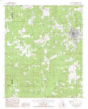 Haynesville West USGS topographic map 32093h2