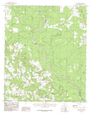 Old Center topo map