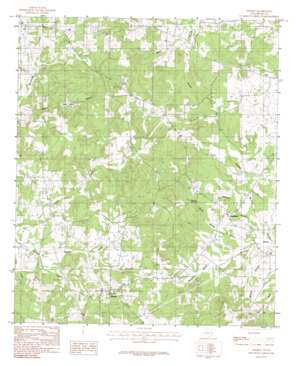Minden topo map