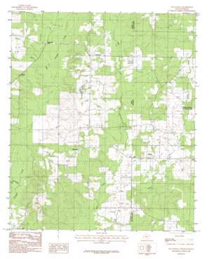 Old Panola USGS topographic map 32094b1