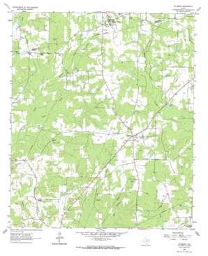 De Berry USGS topographic map 32094c2