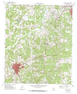 Kilgore Sw topo map