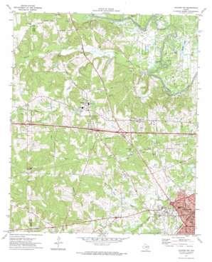 Kilgore Nw topo map