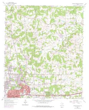Longview Heights USGS topographic map 32094e6