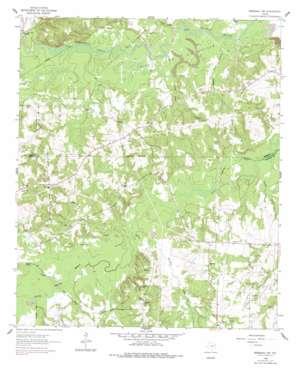 Marshall Nw topo map