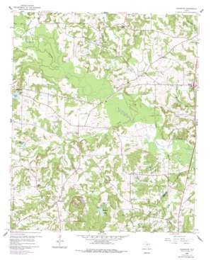 Glenwood USGS topographic map 32094f7