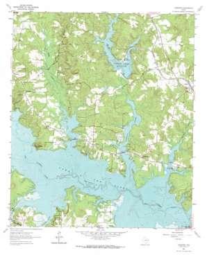 Lassater USGS topographic map 32094g5