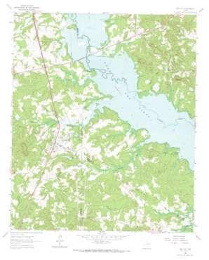 Ore City topo map