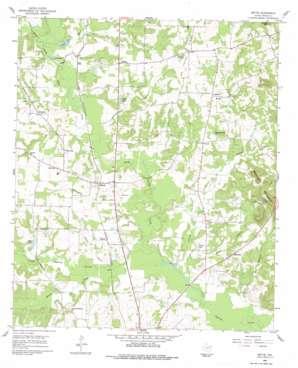 Bettie topo map