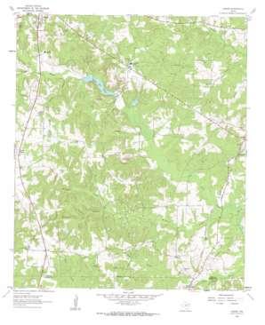 Lanier topo map