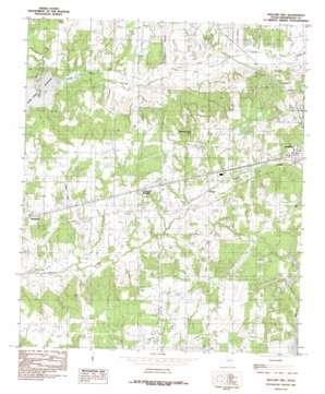 Mallard Hill topo map