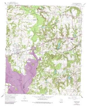 Chandler topo map