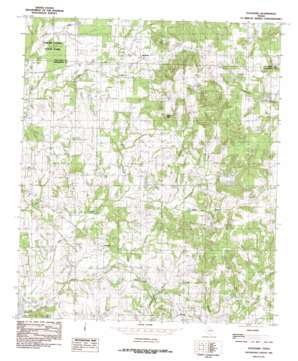 Stockard topo map