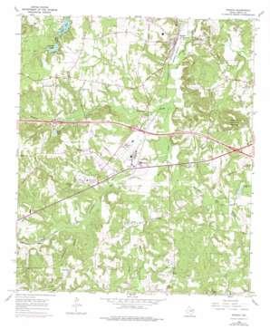Winona topo map