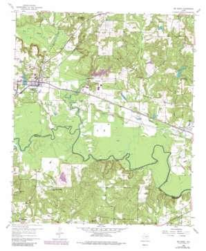 Big Sandy USGS topographic map 32095e1