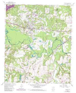 Hawkins topo map