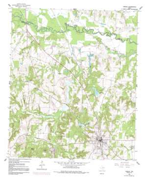 Lindale USGS topographic map 32095e4