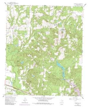 Hainesville topo map