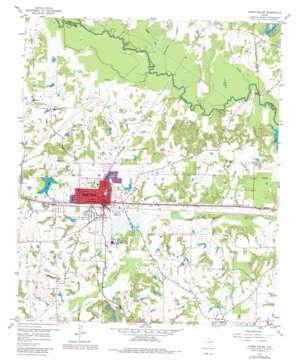 Grand Saline USGS topographic map 32095f6