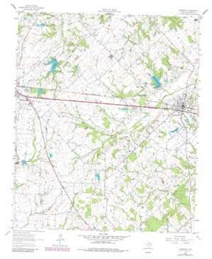 Edgewood topo map