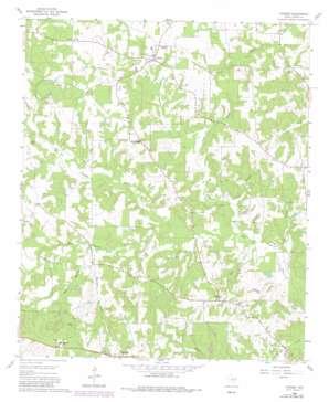 Thomas topo map